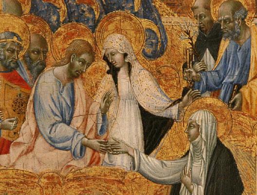 Catherine de Sienne - mariage mystique avec le Christ