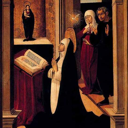 Catherine de Sienne - Pedro Romana
