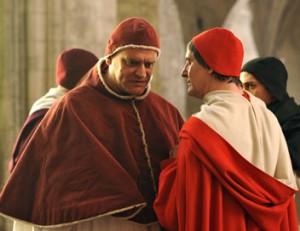 Michael Vander-Meeren (Clément VII) dans la série Inquisitio